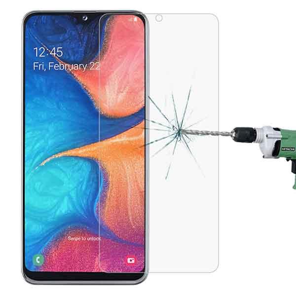 Skjávörn fyrir Galaxy A20E farsíma 2.5D